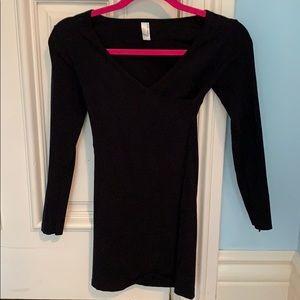 American Apparel Black Bodycon Dress